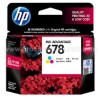 HP Tri Color Ink Cartridge 678 (CZ108AA)