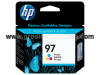 Hp Tri Color Ink Cartridge 97 (C9363WA)